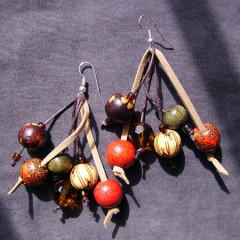 Boucles d'Oreilles : Folie Khmère