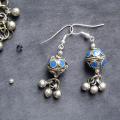 Boucles d'Oreilles Notes d'Istambul