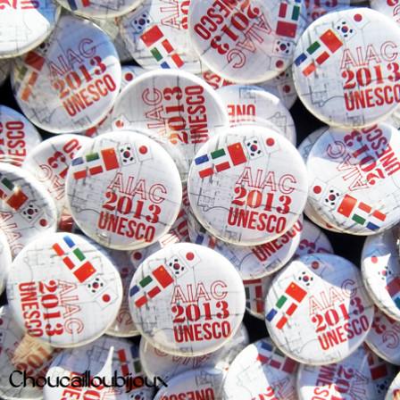 Badges Personnalisés Atelier International d'Architecture 2013