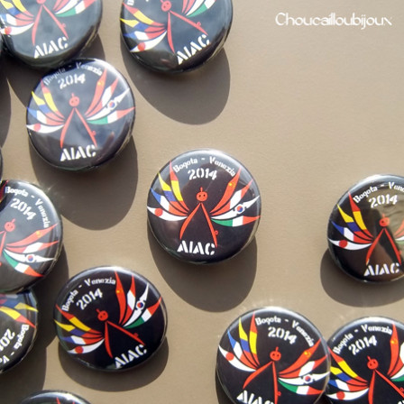 Badges Personnalisés Atelier International d'Architecture 2014