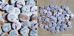 """Mariage """"Craft & Pastel"""", badges personnalisés de Nénette & YenYen"""