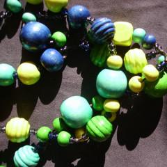 Sautoir Friandise Turquoise