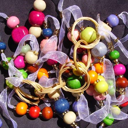 Sautoir Anneaux Multicolore